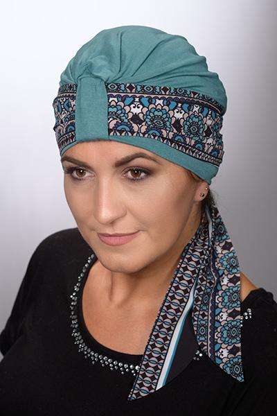turban wiola + opaska nora