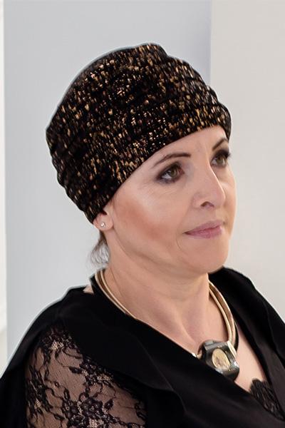 turban wieczorowy agata