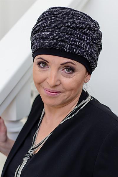 turban wieczorowy laura