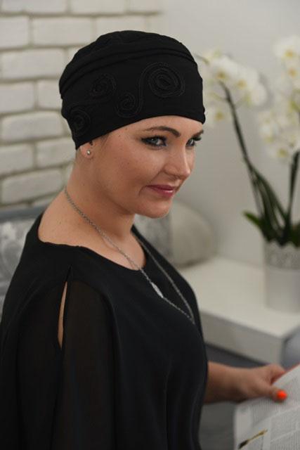 turban wieczorowy